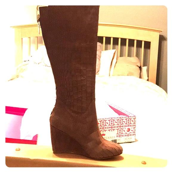 e2b67fa508e7 Elaine Turner Shoes | Womens Knee High Boots | Poshmark